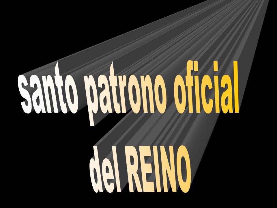 santo patrono oficial del REINO