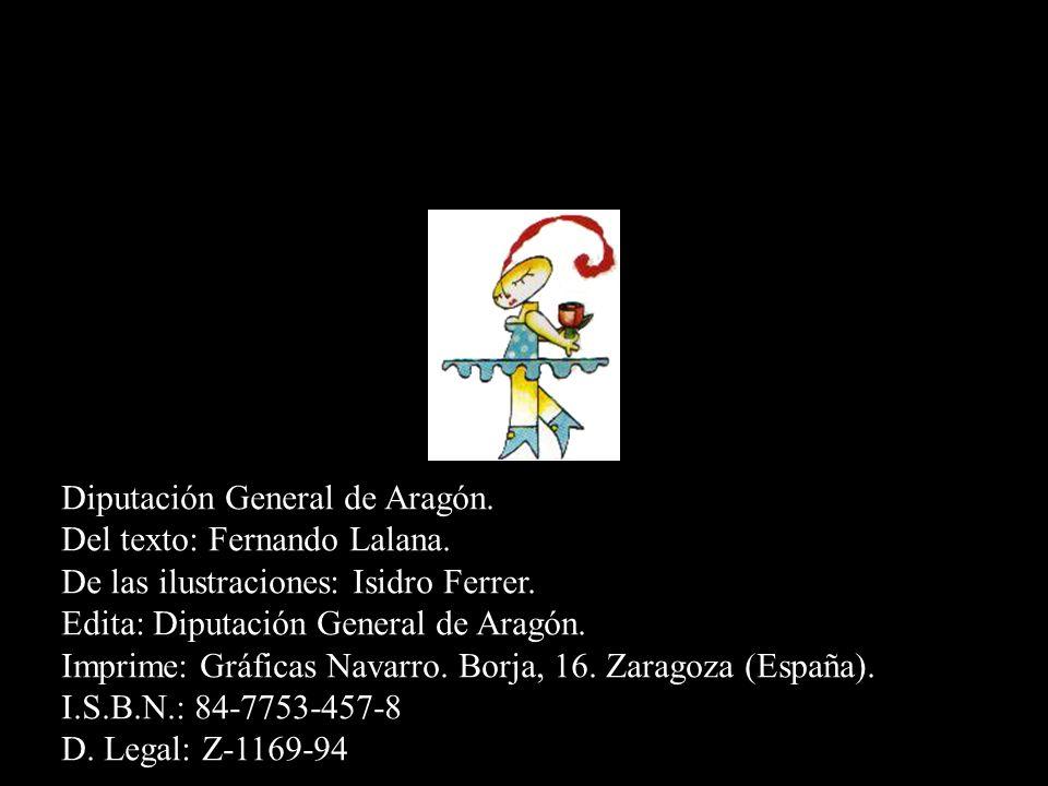 Diputación General de Aragón.