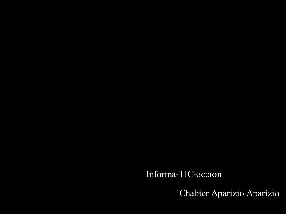 Informa-TIC-acción Chabier Aparizio Aparizio