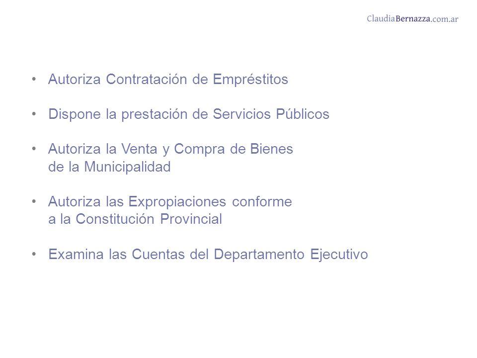Autoriza Contratación de Empréstitos