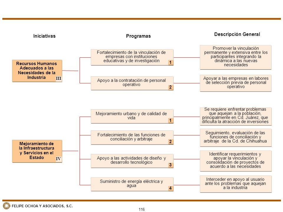 Iniciativas Programas Descripción General