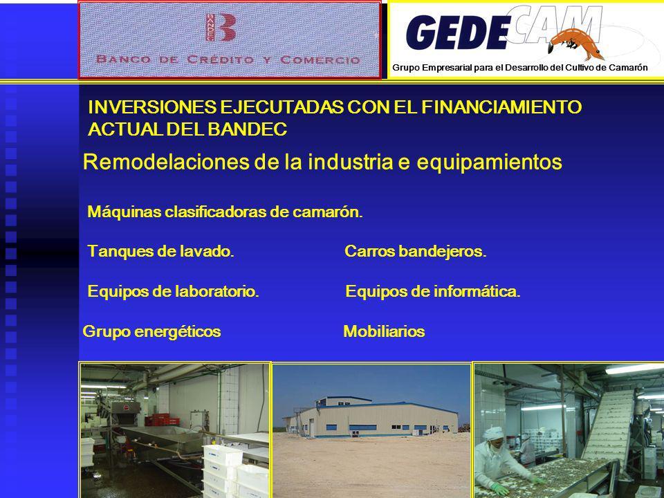 Remodelaciones de la industria e equipamientos