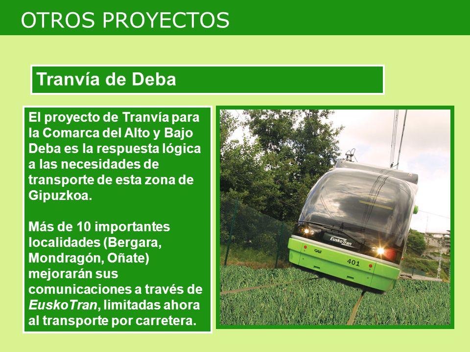 OTROS PROYECTOS Tranvía de Deba