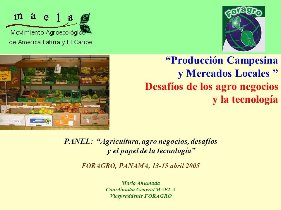 Producción Campesina y Mercados Locales