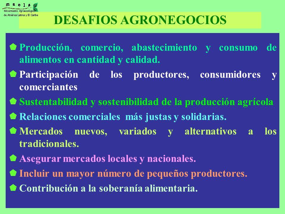 DESAFIOS AGRONEGOCIOS