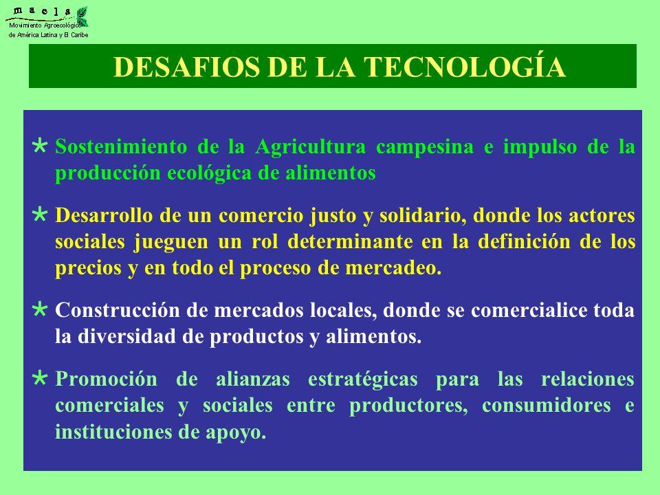 DESAFIOS DE LA TECNOLOGÍA