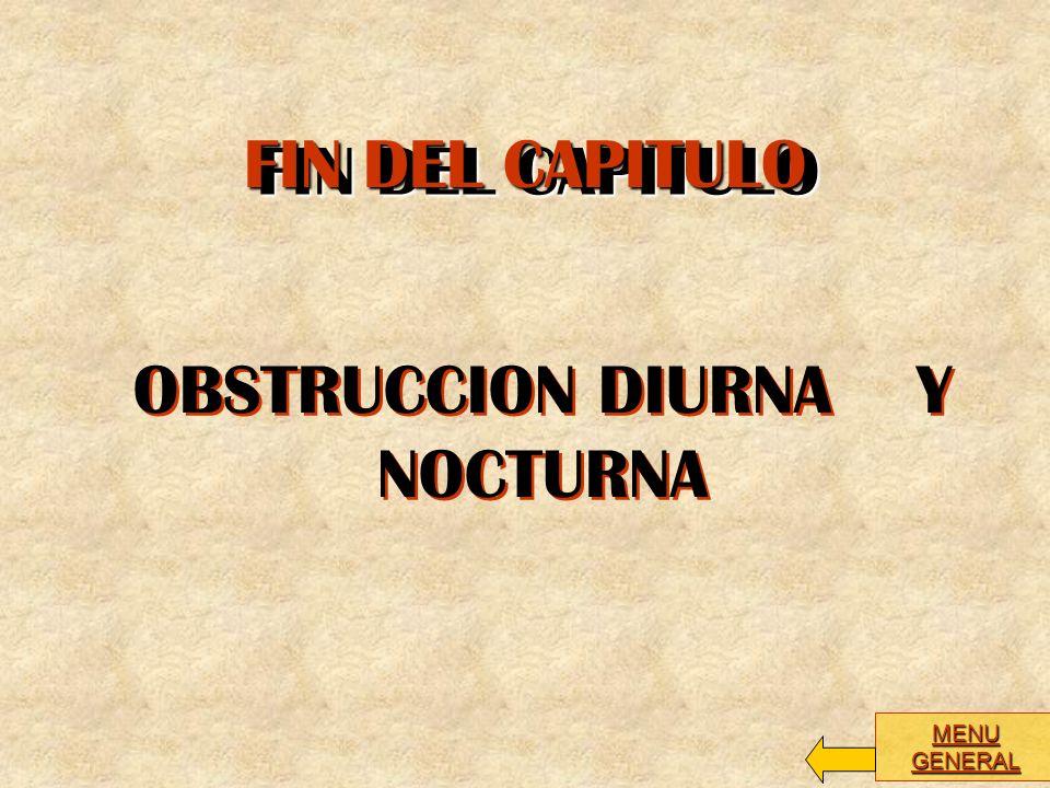 OBSTRUCCION DIURNA Y NOCTURNA
