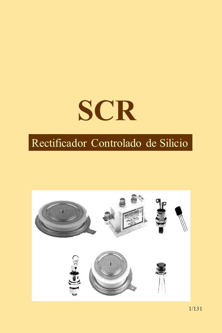 SCR Rectificador Controlado de Silicio