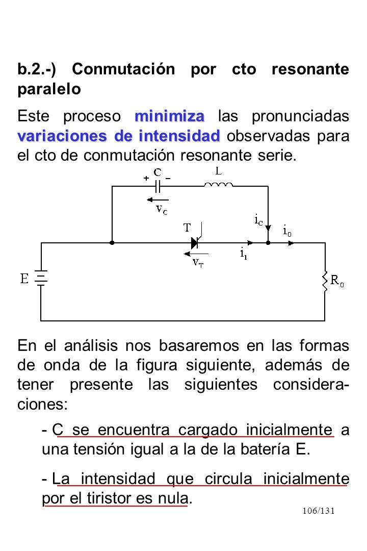 b.2.-) Conmutación por cto resonante paralelo