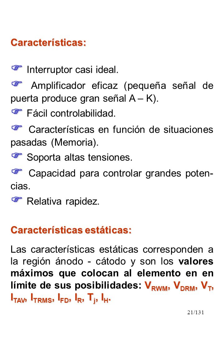  Interruptor casi ideal.