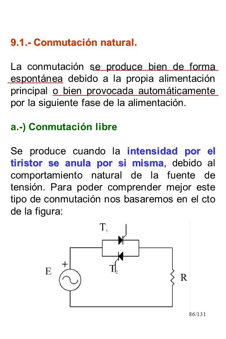 9.1.- Conmutación natural.