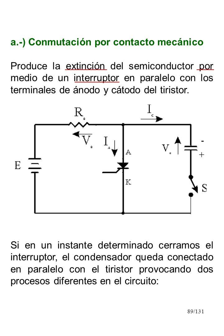 a.-) Conmutación por contacto mecánico