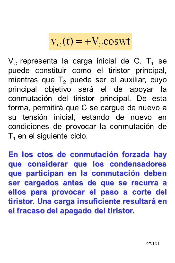 VC representa la carga inicial de C