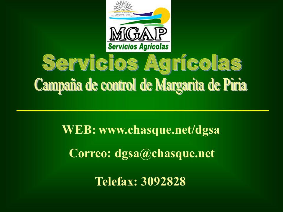 Campaña de control de Margarita de Piria
