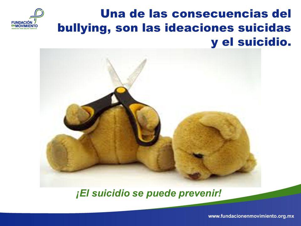 ¡El suicidio se puede prevenir!