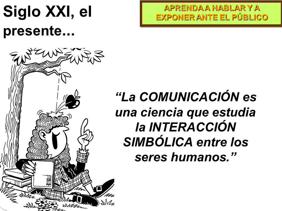 Siglo XXI, el presente...