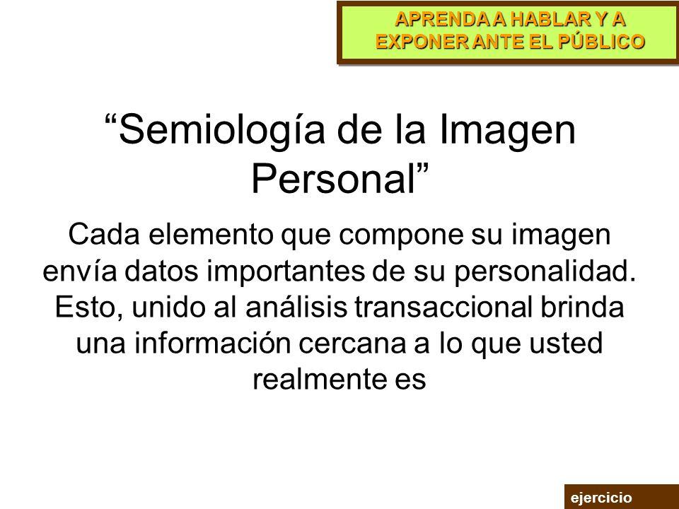 Semiología de la Imagen Personal