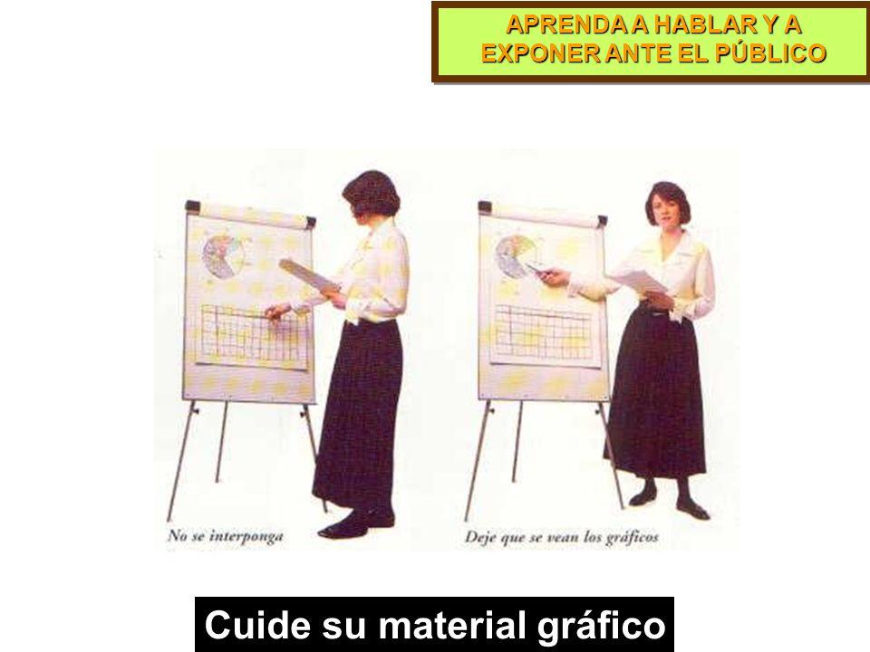 Cuide su material gráfico