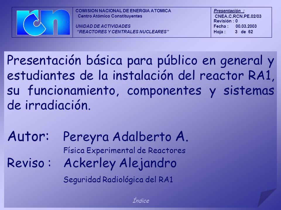 Física Experimental de Reactores