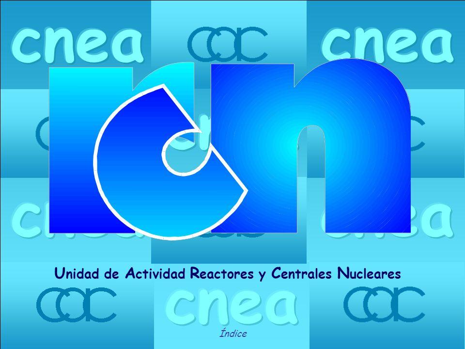 cnea Unidad de Actividad Reactores y Centrales Nucleares Índice