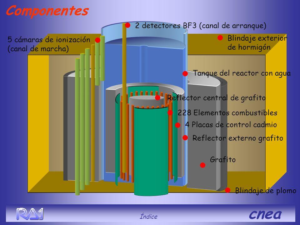Componentes 2 detectores BF3 (canal de arranque)