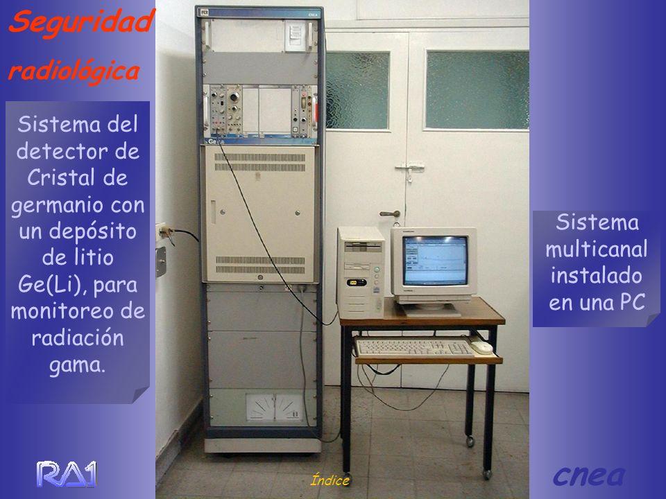 Sistema multicanal instalado en una PC