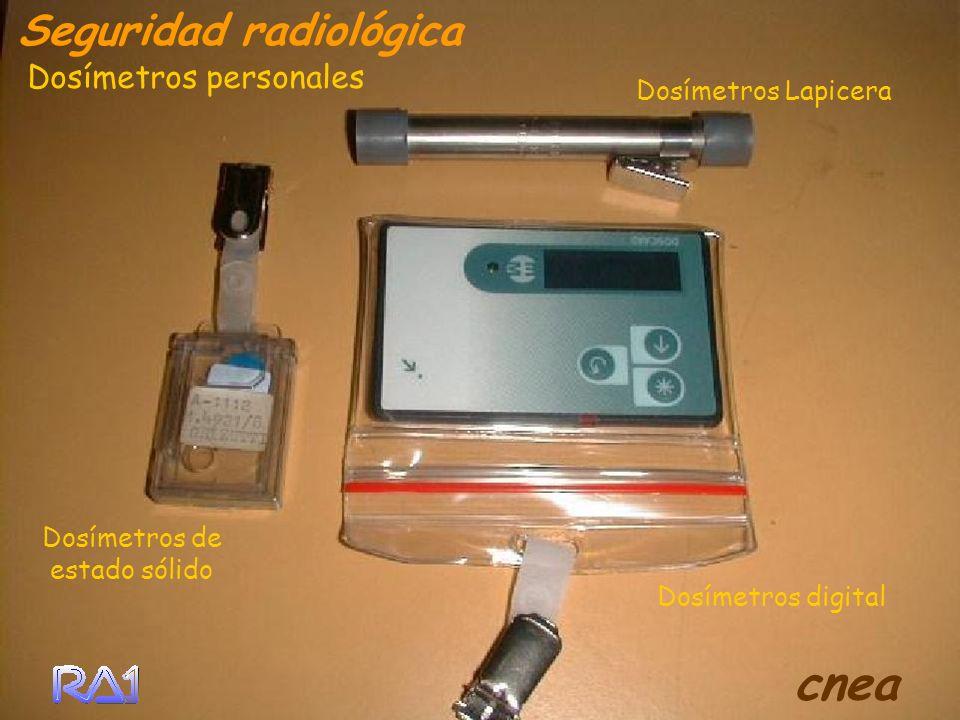 cnea Seguridad radiológica Dosímetros personales Dosímetros Lapicera