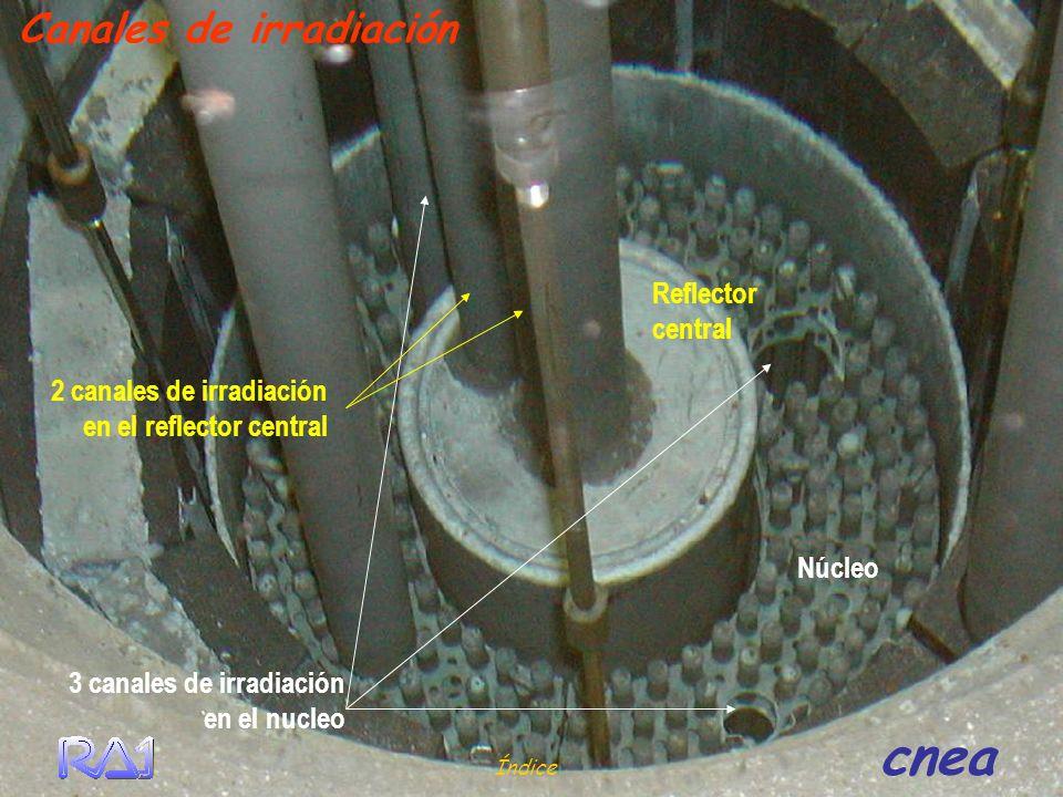 Canales de irradiación