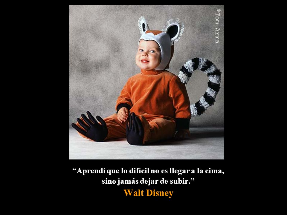 Walt Disney Aprendí que lo difícil no es llegar a la cima,