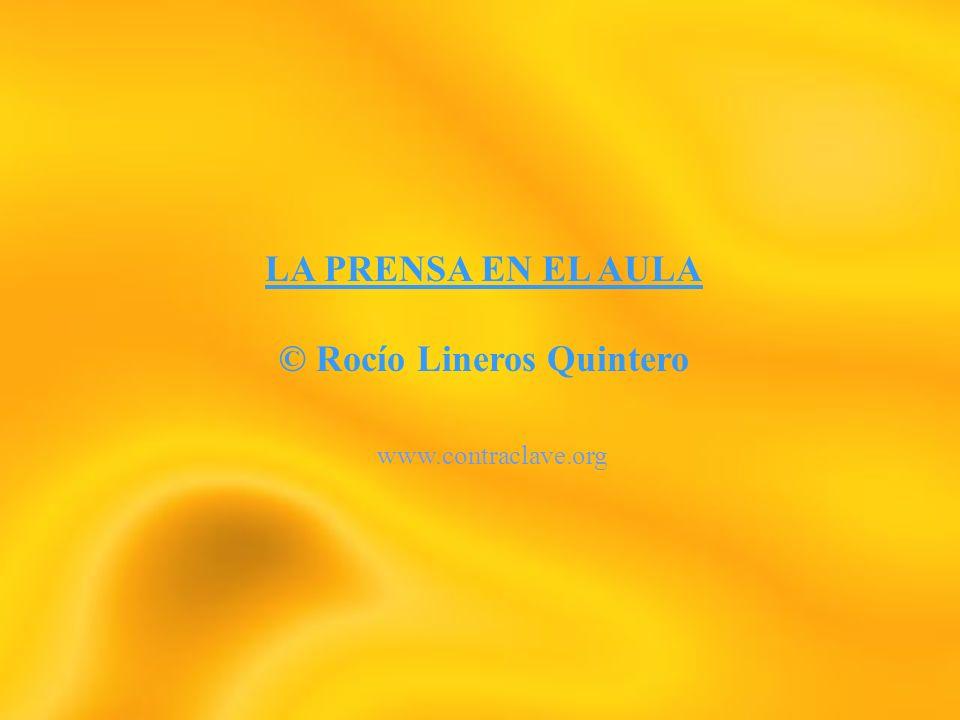 © Rocío Lineros Quintero