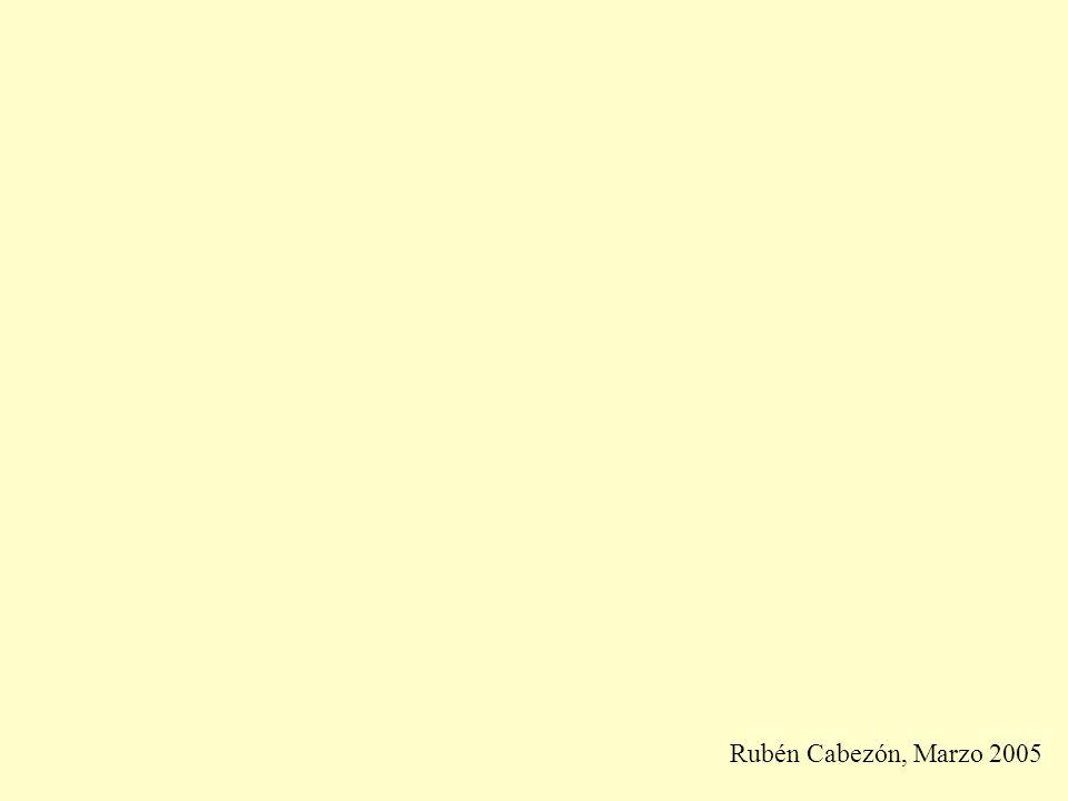 Rubén Cabezón, Marzo 2005