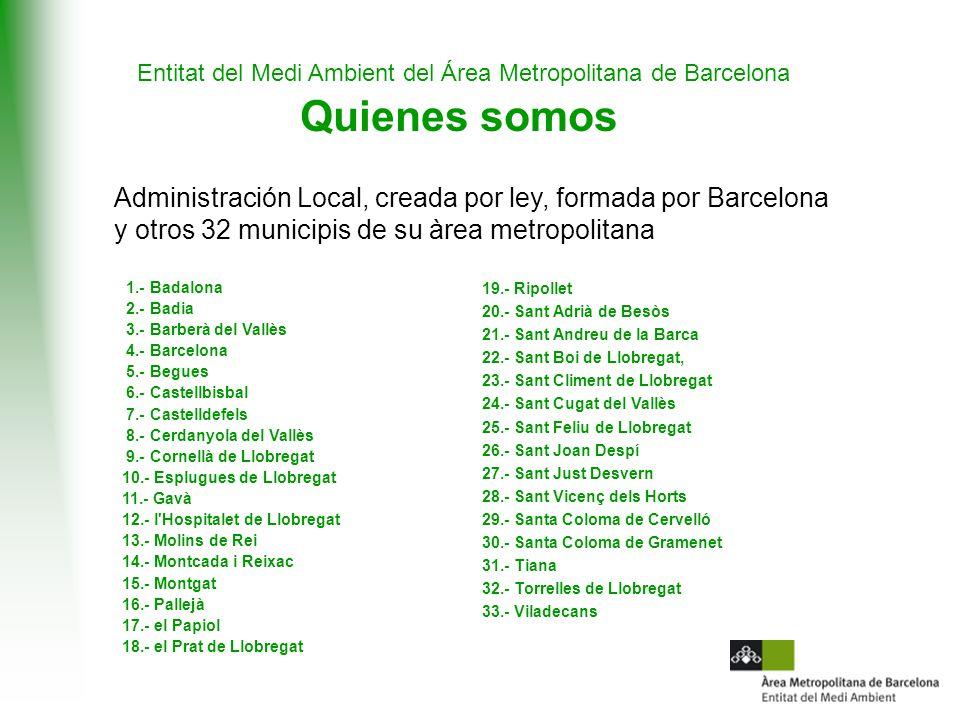 Entitat del Medi Ambient del Área Metropolitana de Barcelona