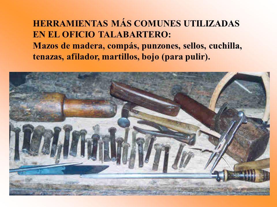 HERRAMIENTAS MÁS COMUNES UTILIZADAS