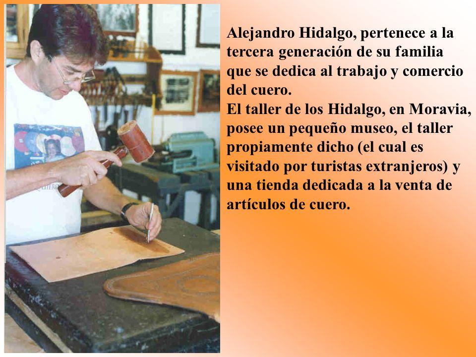Alejandro Hidalgo, pertenece a la