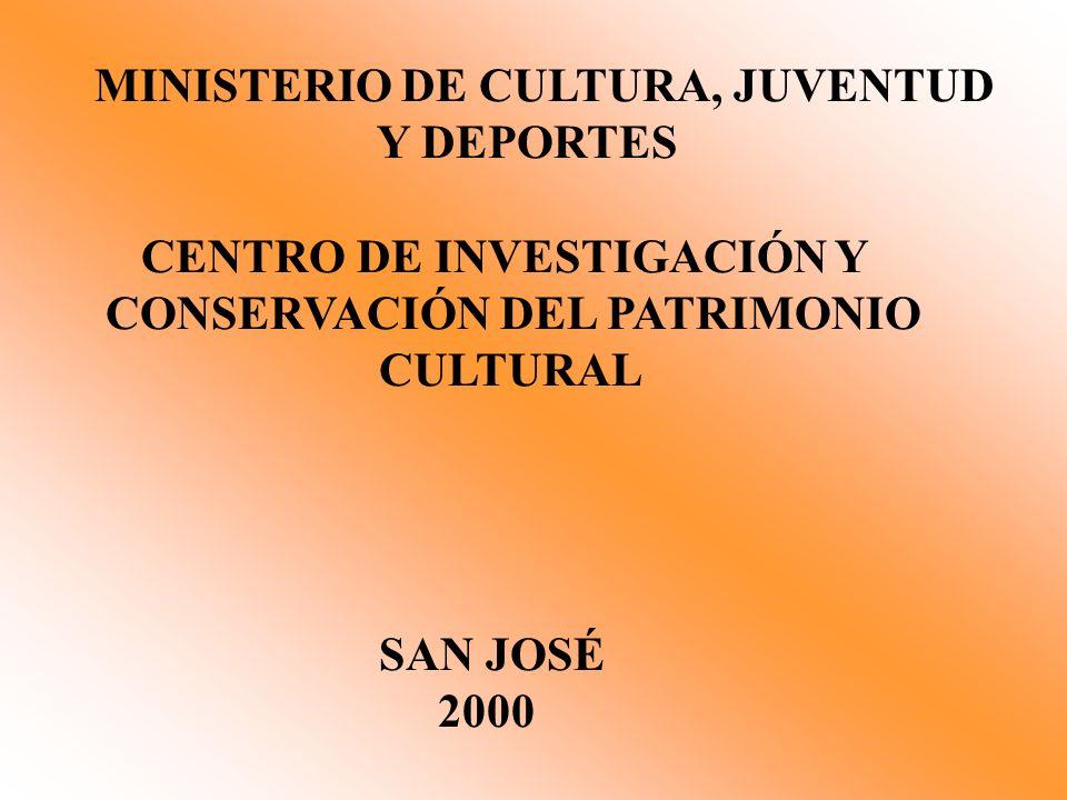 MINISTERIO DE CULTURA, JUVENTUD
