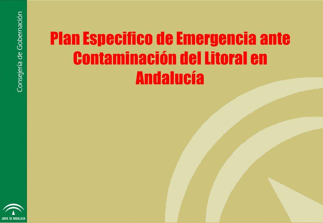 Plan Especifico de Emergencia ante Contaminación del Litoral en Andalucía