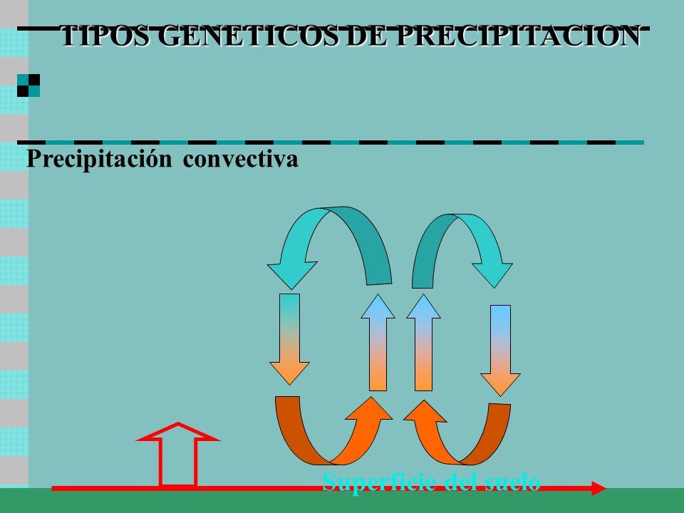 TIPOS GENETICOS DE PRECIPITACION