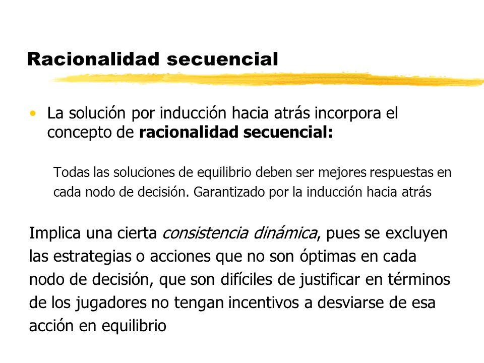 Racionalidad secuencial
