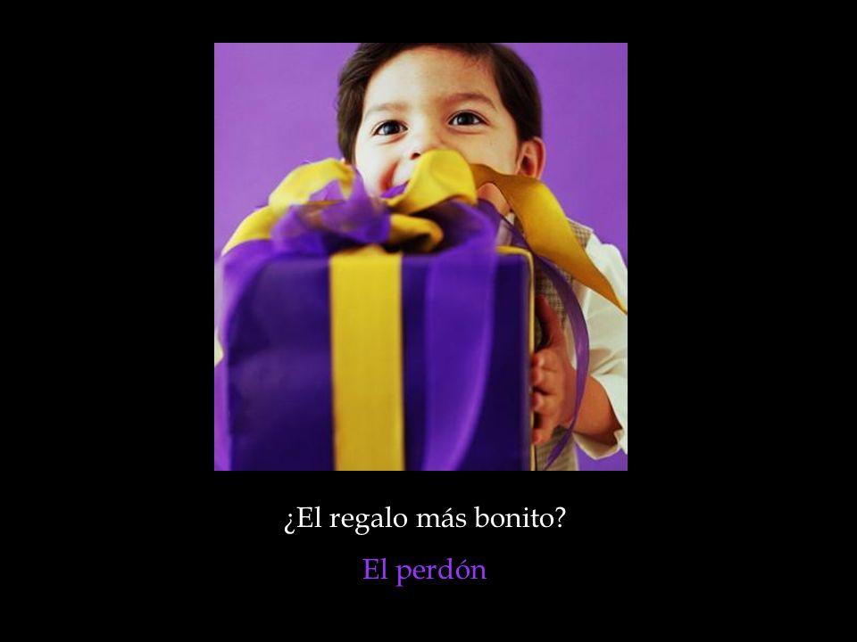 ¿El regalo más bonito El perdón