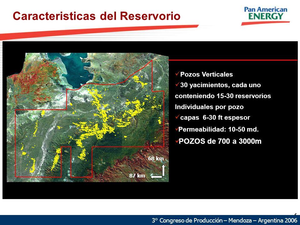 Caracteristicas del Reservorio