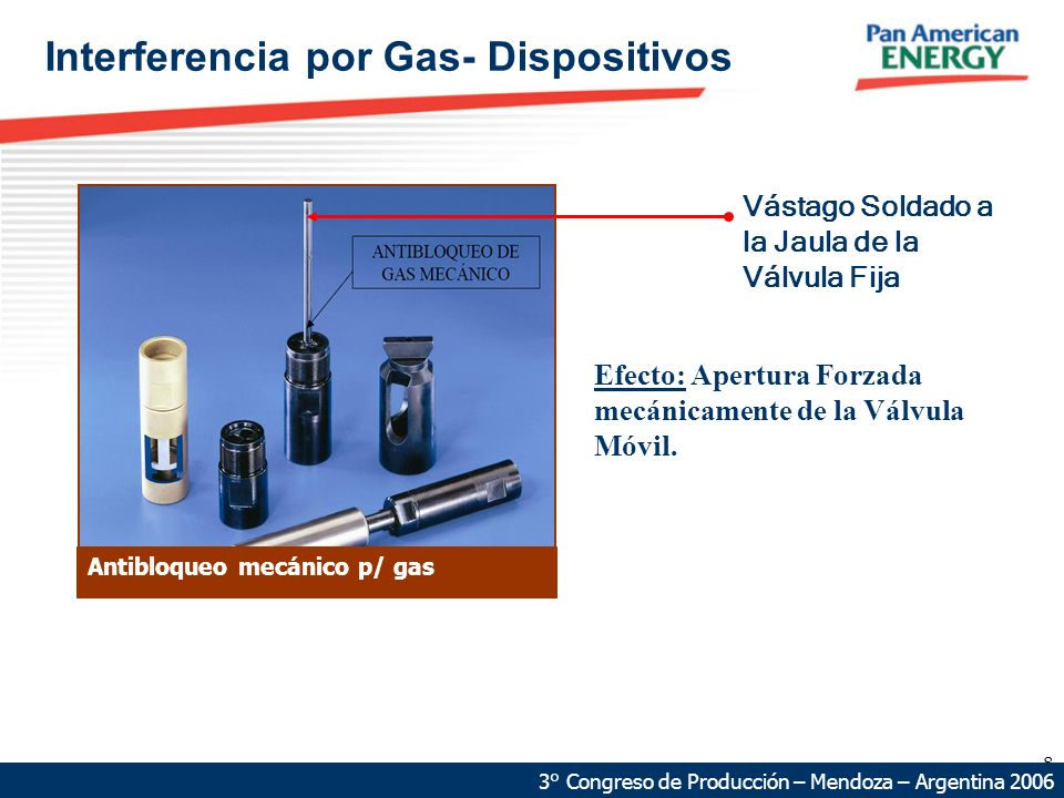 Interferencia por Gas- Dispositivos