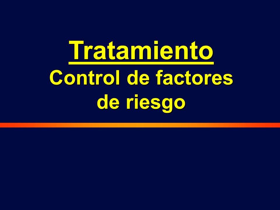 Control de factores de riesgo