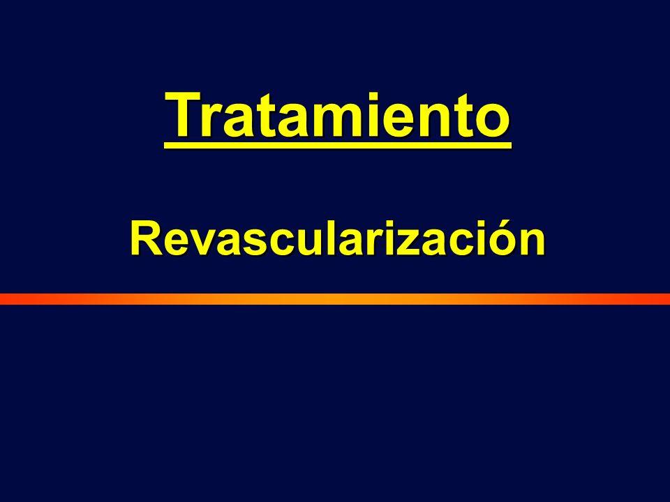 Tratamiento Revascularización