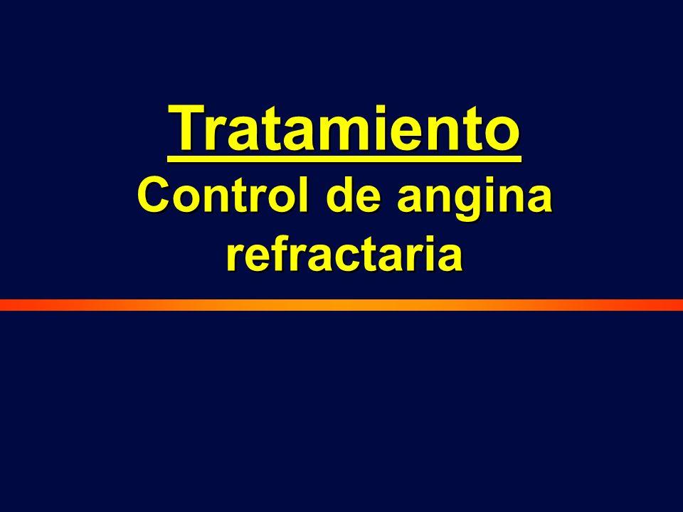 Control de angina refractaria