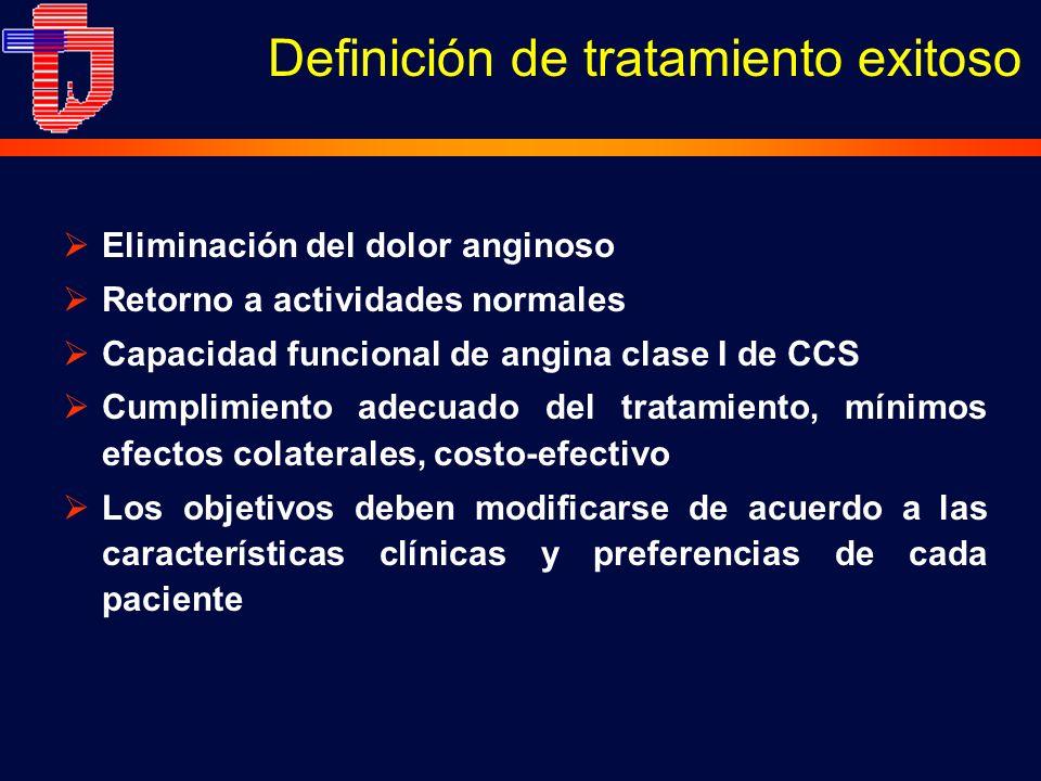 Definición de tratamiento exitoso