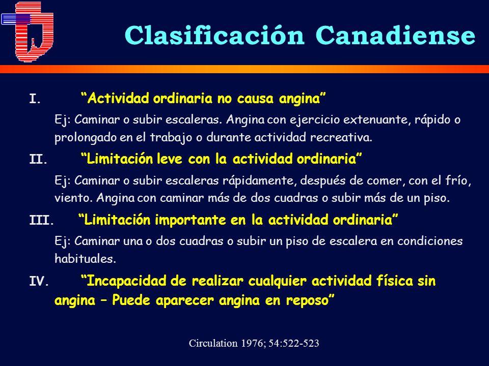Clasificación Canadiense