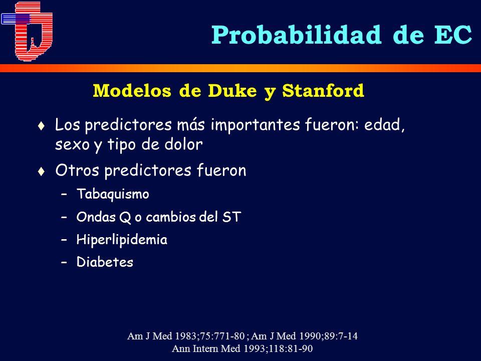 Modelos de Duke y Stanford