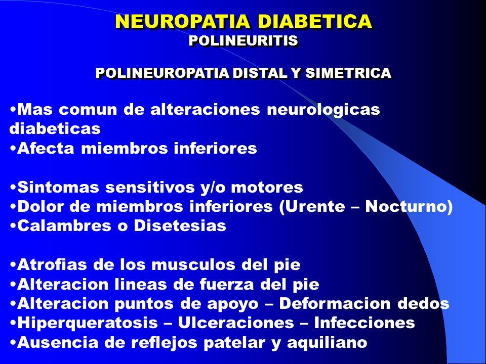 POLINEUROPATIA DISTAL Y SIMETRICA
