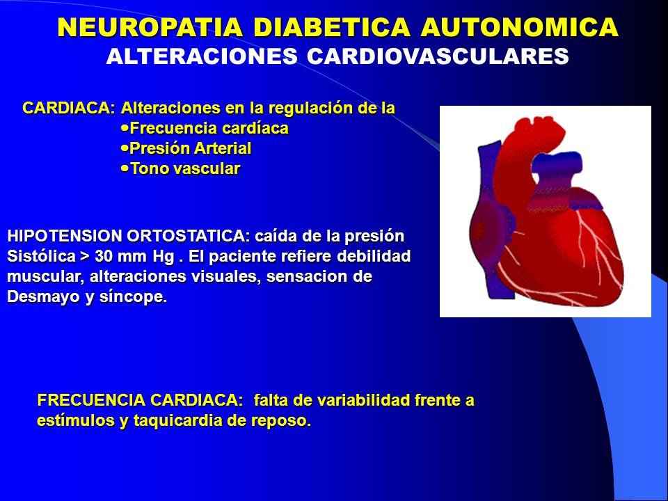 NEUROPATIA DIABETICA AUTONOMICA