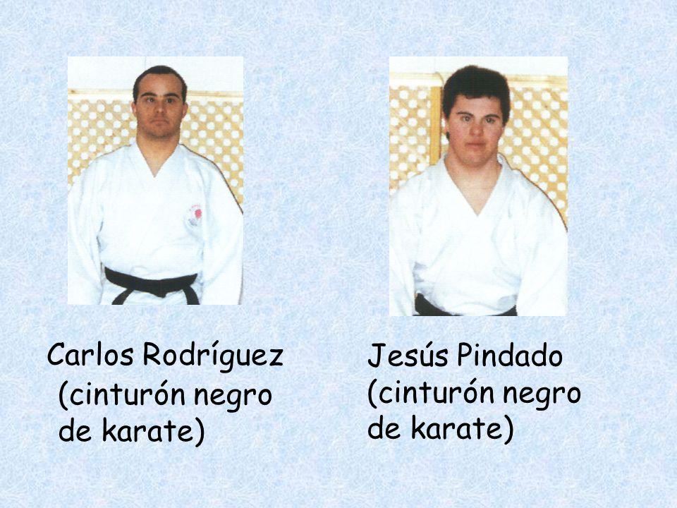 Carlos Rodríguez Jesús Pindado (cinturón negro de karate) (cinturón negro de karate)